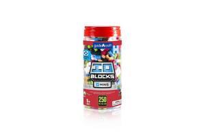 Детский конструктор из мягкого пластика Guidecraft IO Blocks Minis, 250 деталей