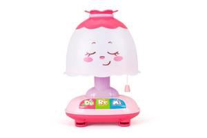Детский музыкальный ночник Hola Toys, розовый