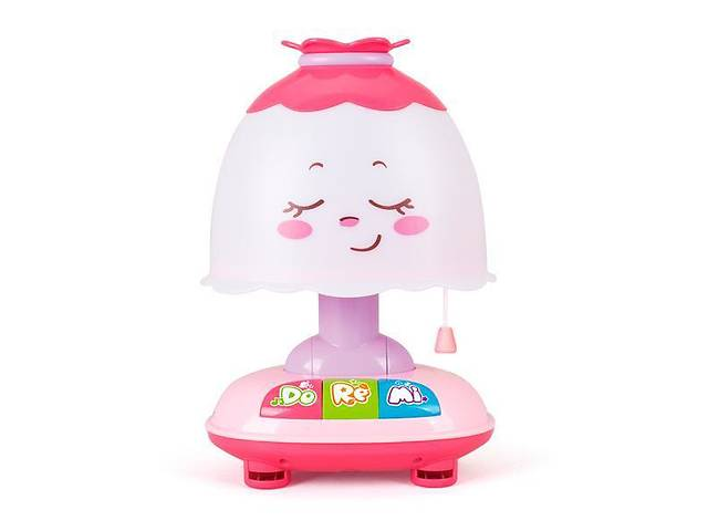 Детский музыкальный ночник Hola Toys, розовый- объявление о продаже  в Киеве