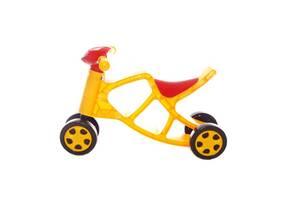 Детский минибайкбеговел ( велосипед без педалей) Doloni Toys со звуковыми эффектами, желтый