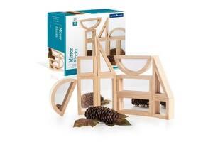 Детский набор стандартных деревянных блоков Зеркало Guidecraft Block Play, 10 шт