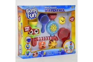 """Детский набор игрушка для ванной водопад на присоске """"Большой кран"""" 9905"""