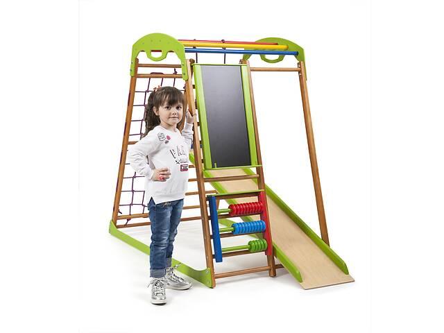 продам Детский спортивный комплекс для дома SportBaby BabyWood Plus бу в Одесі