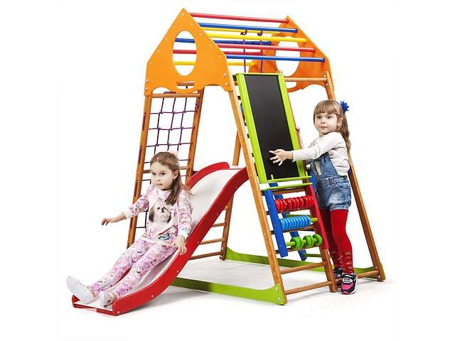 купить бу Дитячий спортивний комплекс для будинку SportBaby KindWood Plus 3 в Одесі