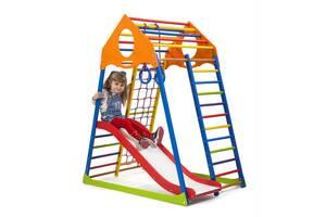 Детский спортивный комплекс SportBaby KindWood Color Plus 1