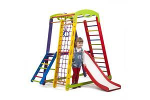 Детский спортивный уголок- SportBaby  «Кроха - 1 Plus 2»