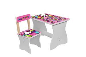 Детский стол со стульчиком Bambi 504-49 Hello Kitty розовый