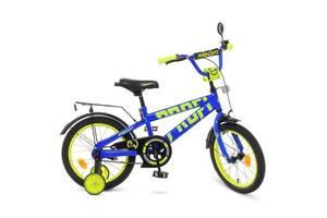 Детский велосипед Profi Flash T 18175 18 дюймов синий