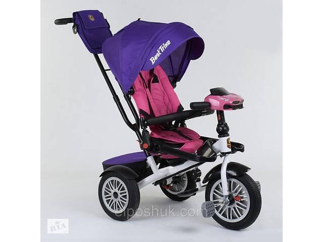 Детский велосипед трехколёсный с откидной спинкой для сна и с поворотным сиденьем Best Trike  9288 В - 7598- объявление о продаже   в Украине