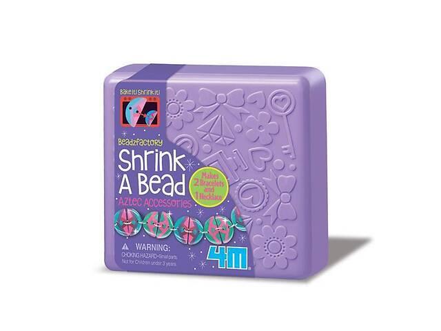 бу Детский игровой набор для творчества 4M Украшения из бусин Этно, в коробка шкатулка, фиолетовый в Киеве