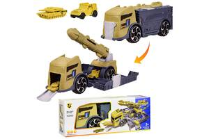 Детский игровой набор P910-A «Трейлер-Военная база»