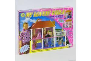 Домик для кукол 6980 2 в 1 двухэтажный