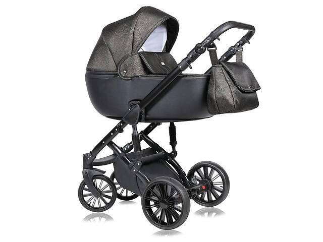 Дитяча коляска 2 в 1 Quali Prado коричнева 08