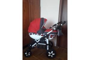 """Детская коляска Angelina """"Discovery"""" серии 2 в 1-м красного цвета"""