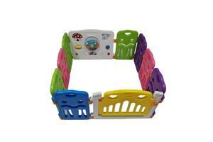 Дитячий ігровий манеж AVKO AHC-001 8+2 кольоровий