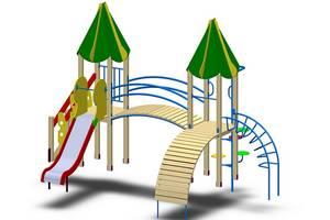 Детская площадка, Игровой комплекс И-92