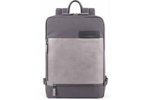 Городской рюкзак  Piquadro Ade  16 л серый