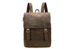 Качественный рюкзак из натуральной кожи Vintage 14872 Коричневый