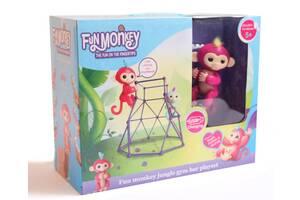 Комплект  Fingerlings Jungle Gym PlaySet интерактивная обезьянка  Aimee