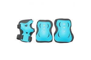 Комплект защитный SportVida Size M Blue/Grey SKL41-277759