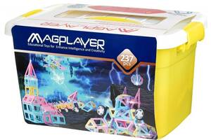 Конструктор MagPlayer 237 элементов