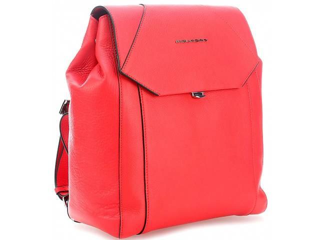 купить бу Кожаный рюкзак Piquadro CA4630MU_R, красный, 12л в Киеве