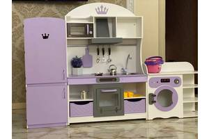 Кухня для девочки, игровая кухня для девочки, игровой набор кухня