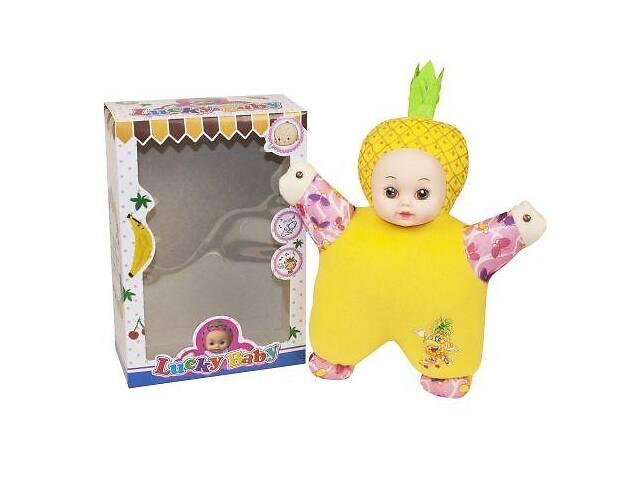 бу Кукла мягкая музыкальная Lucky Baby Kronos Toys T1-18A Желтый (tsi_51722) в Киеве