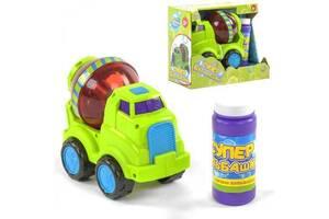"""Машинка для выдувания мыльных пузырей на батарейках, в комплекте с мыльным раствором """"TK Group"""" 75348"""