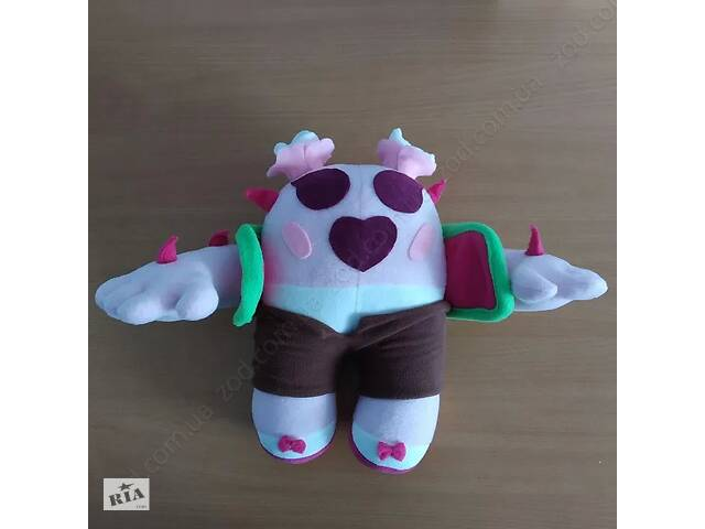 продам Мягкие игрушки Brawl Stars Спайк, Сакура, Леон (Бравл старс) бу в Ровно