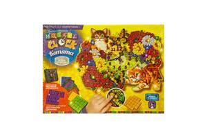Набор для творчества Danko Toys Mosaic Clock Котята