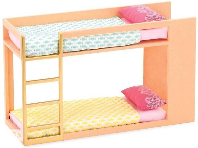 бу Набор мебели LORI LO37044Z для кукол, Двухэтажная кровать в Киеве