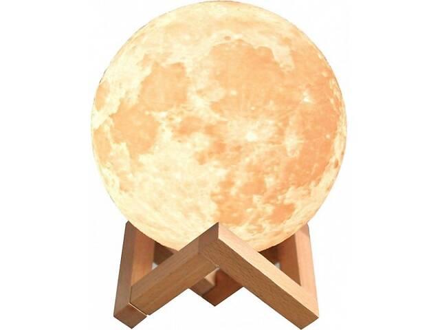 бу Ночной светильник в виде луны UKC 3D Moon Light 15 см сенсорный на 5 режимов Разный цвет луны (hub_kbnx38961) в Киеве