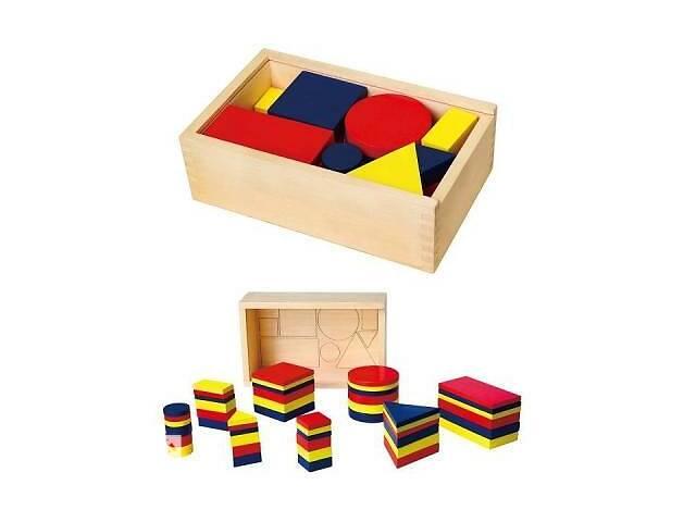 продам Обучающий набор Viga Toys Логические блоки (56164U) бу в Харькове
