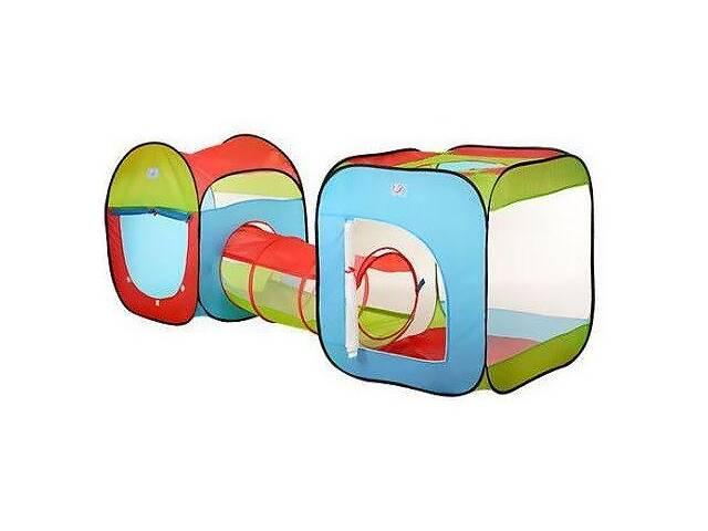 бу Палатка игровая детская с тоннелем Спартак 3 входа M 2503 Разноцветный (006504) в Одессе