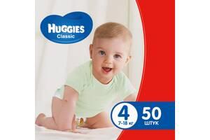 Подгузник Huggies Classic 4 Jumbo, 50 шт