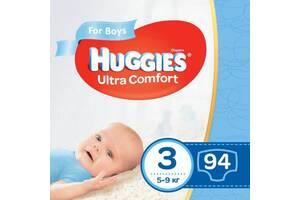Подгузник Huggies Ultra Comfort Giga 3 для мальчиков (5-9кг) 94 шт (5029053543659)