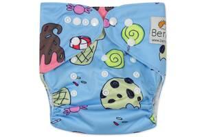 Подгузник многоразовый c вкладышем Berni Kids (3-15 кг)