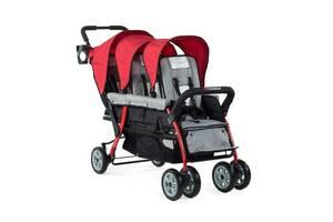 Продам трехместные детскую коляску ДЛЯ тройной