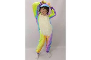 Пижама Кигуруми детский на молнии с капюшоном Бегемотик 36 р. рост 128-134 см (zolk_BL_KA442-1-36)