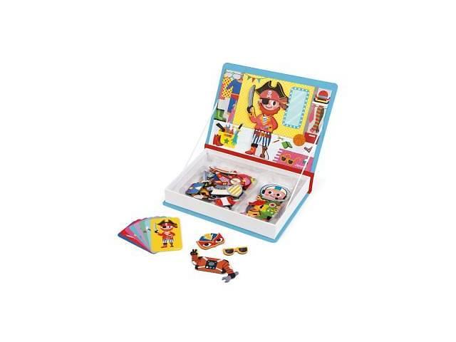продам Развивающая игрушка Janod Магнитная книга Наряды для мальчика (J02719) бу в Харькове