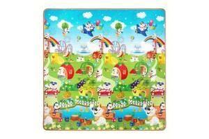 Развивающий детский коврик двухсторонний 4FIZJO Kids 180 x 180 x 1 см SKL41-277896