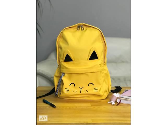 Рюкзак портфель женский желтый (есть другие цвета)- объявление о продаже  в Одессе