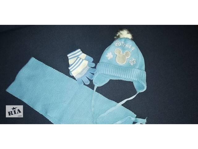 Шапочка и шарфик- объявление о продаже  в Киеве