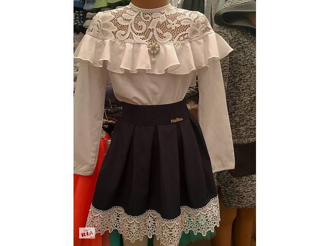 купить бу Школьная юбка, блузка ,пиджак комплектом и отдельно, цвета разные, рост 128 -152 ( 7- 12 лет) в Киеве