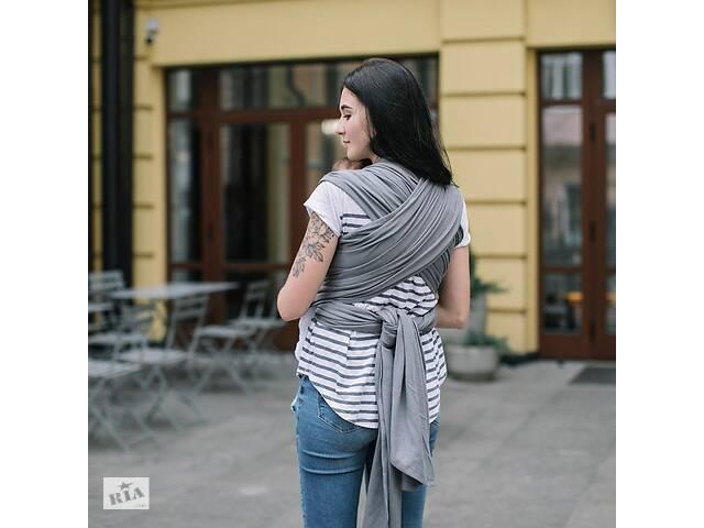 продам Слинг - шарф для ребенка с зауженными концами Love & Carry, графит бу в Киеве