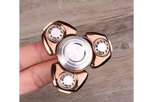 Spinner спиннер антистресс металл золотистый Mk2783