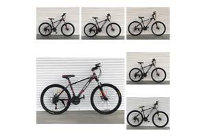 Спортивный велосипед TopRider-611 26 дюймов. Дисковые тормоза.