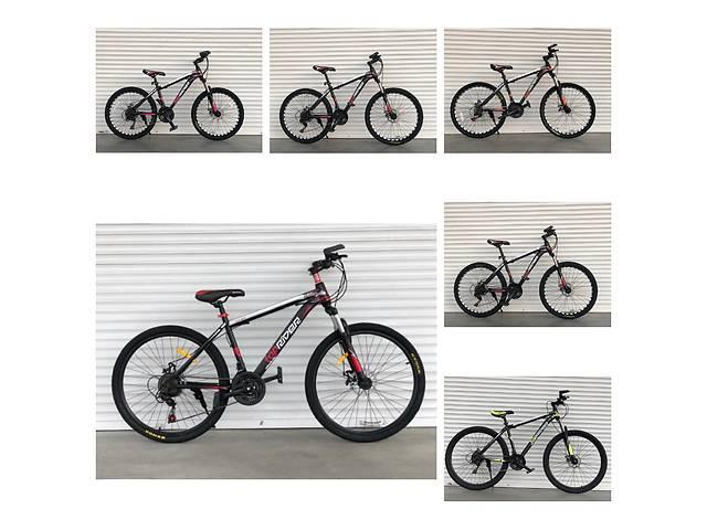 купить бу Спортивный велосипед TopRider-611 26 дюймов. Дисковые тормоза. в Одессе
