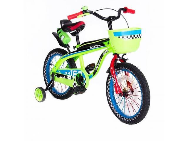"""купить бу Велосипед двухколесный 16"""" SW-17006-16 салатовый в Одессе"""